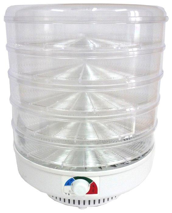 Сушилка Спектр-Прибор ЭСОФ-0.6/220 Ветерок-2 прозрачный (5 поддонов)