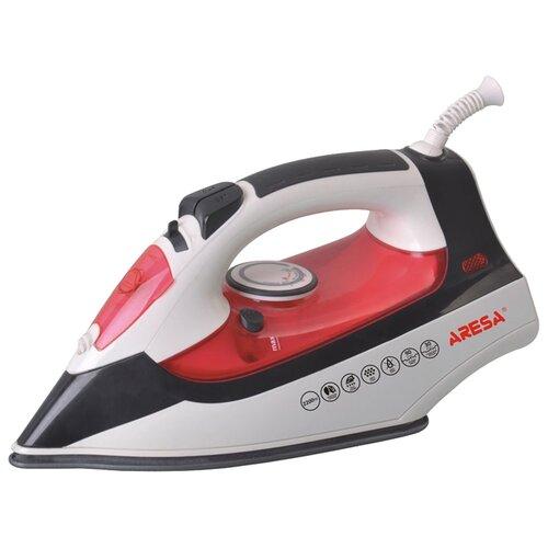 Утюг ARESA AR-3104 (I-2206C) белый/красный/черный утюг aresa ar 3115 серый оранжевый белый