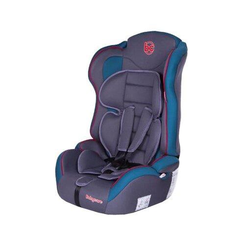 Автокресло группа 1/2/3 (9-36 кг) Baby Care Upiter Plus, голубой/серый автокресло группа 1 2 3 9 36 кг little car ally с перфорацией черный