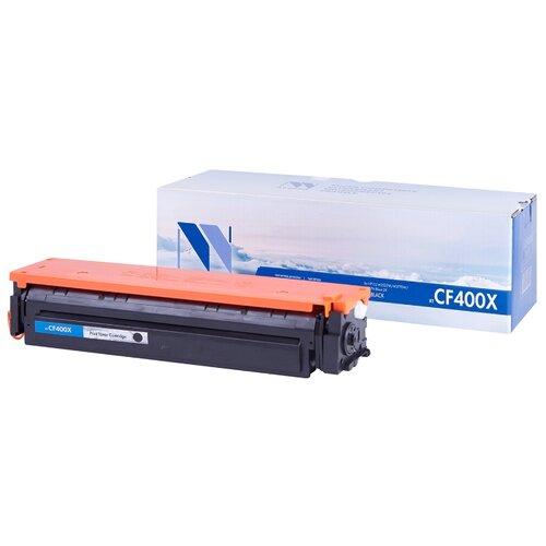 Фото - Картридж NV Print CF400X для HP, совместимый картридж nv print cb383a для hp совместимый