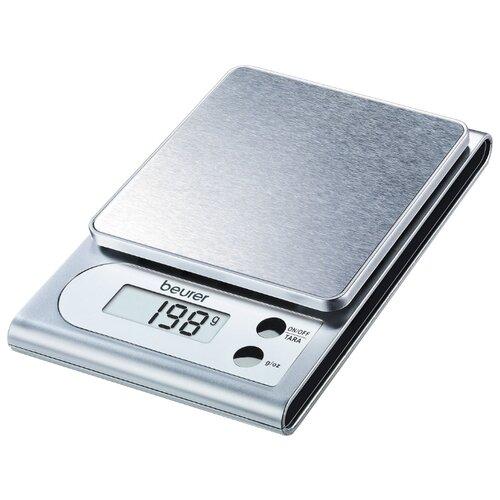Фото - Кухонные весы Beurer KS 22 белый/серебристый кухонные весы beurer ks 59