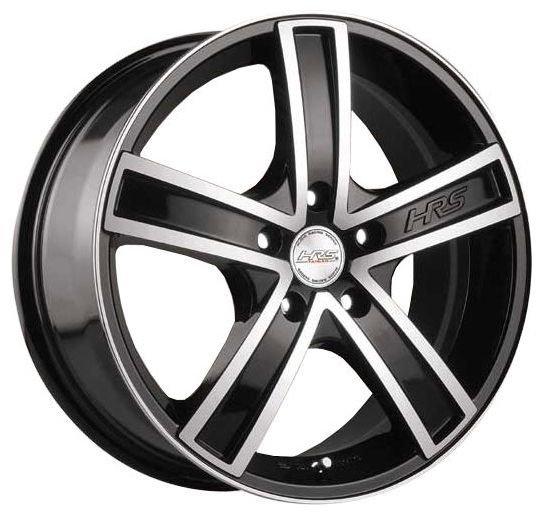 Колесный диск Racing Wheels H-412 6.5x15/5x105 D56.6 ET39 BK F/P
