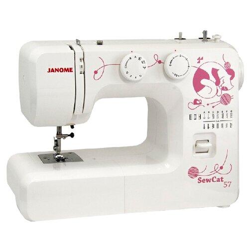 Швейная машина Janome Sew Cat 57  - купить со скидкой