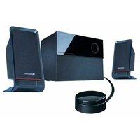 Колонки Microlab M200 16+2х12 Вт черный проводной ПДУ