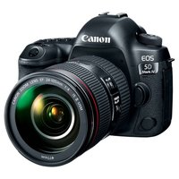 Зеркальный фотоаппарат Canon EOS 5D Mark IV Kit EF 24-70mm f/4L IS