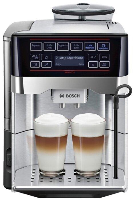 Сравнение с Bosch TES60729RW VeroAroma кофемашина