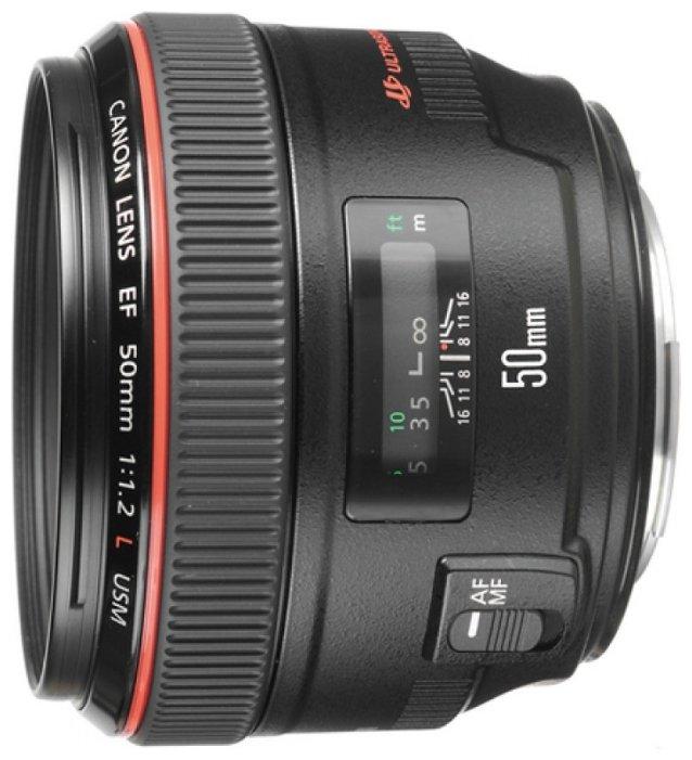 Canon Объектив Canon EF 50mm f/1.2L USM