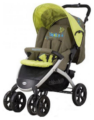 Прогулочная коляска Chipolino Rapido + car seat