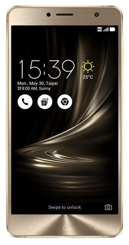 Смартфон ASUS ZenFone 3 Delux  ZS550KL 64Gb золотистый (90AZ01F1-M00090)