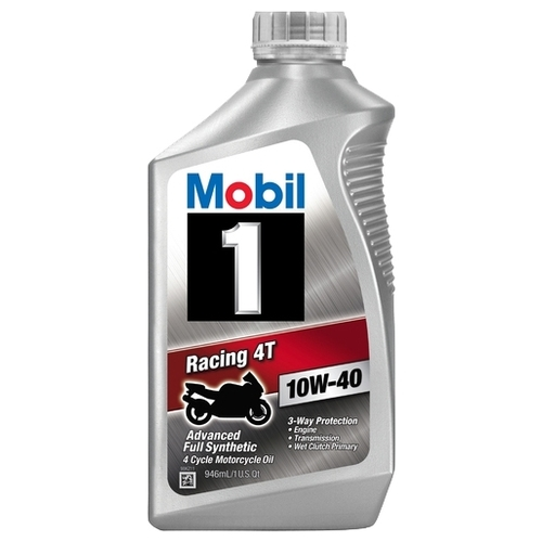 Моторное масло MOBIL 1 Racing 4T 10W-40 0.946 л Моторные масла