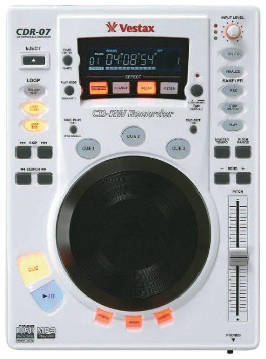CD-рекордер Vestax CDR-07