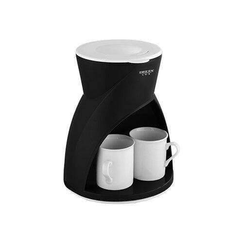 Кофеварка DELTA LUX DL-8131 черный блендер delta lux dl 7313