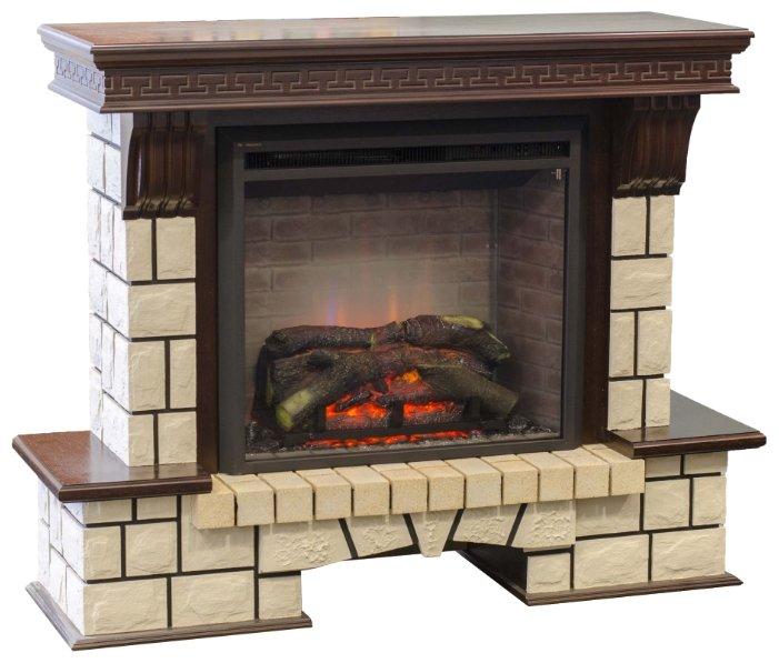 Камин Real-flame Leeds 26 SD/DD + портал Stone New 26