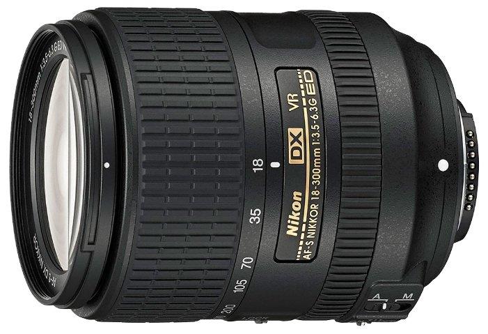 Купить <b>Объектив Nikon 18</b>-<b>300mm</b> f/3.5-6.3G ED <b>AF</b>-<b>S</b> VR DX по ...