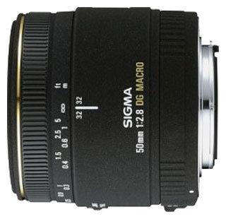Объектив Sigma AF 50mm f/2.8 EX DG MACRO Minolta A