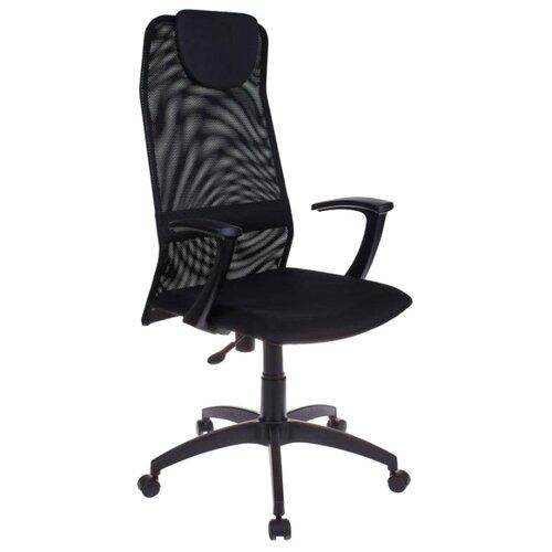 Компьютерное кресло Бюрократ KB-8 офисное, обивка: текстиль, цвет: black/TW-11 фото
