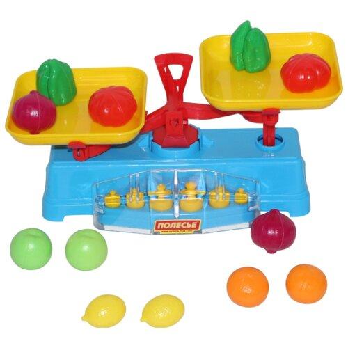 Купить Весы Полесье с продуктами (53787), Играем в магазин