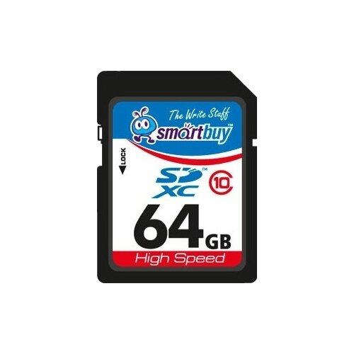 Карта памяти SmartBuy SDXC Class 10 64GB