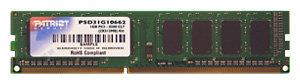 Оперативная память 1 ГБ 1 шт. Patriot Memory PSD31G133381