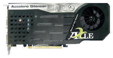 Axle GeForce 9400 GT 550Mhz PCI-E 2.0 512Mb 1350Mhz 128 bit DVI TV HDCP YPrPb Cool