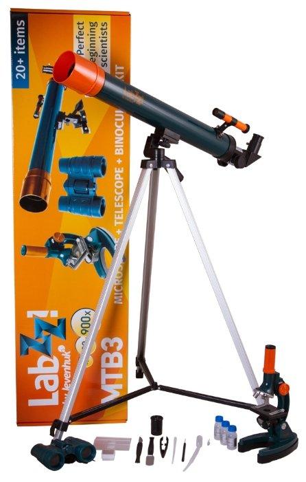 Телескоп + микроскоп LEVENHUK LabZZ MTВ3