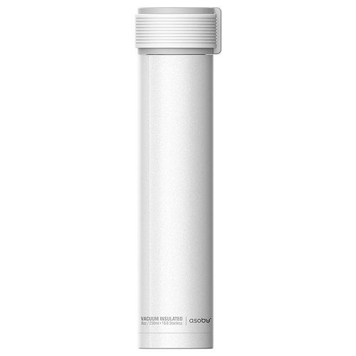 Термобутылка Asobu Skinny mini, 0.23 л белый