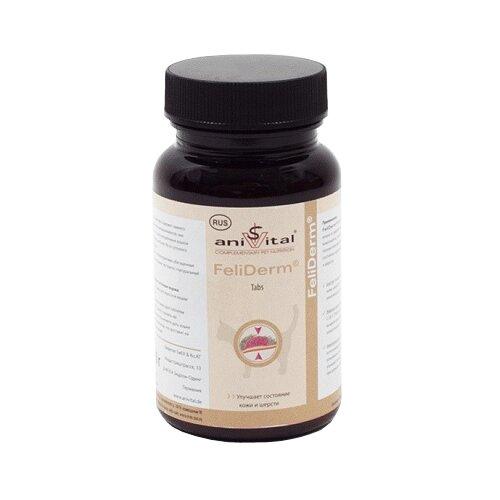 Витамины Anivital FeliDerm 140 таб.