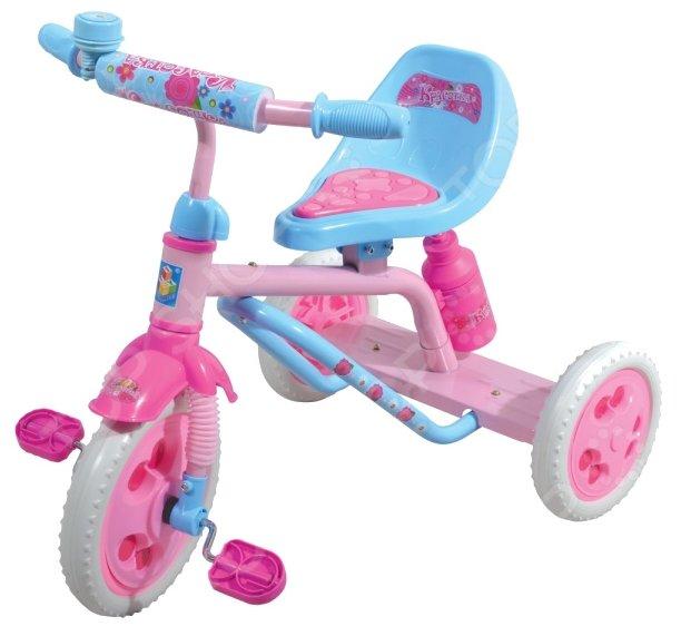 Трехколесный велосипед 1 TOY Т57605 Красотка
