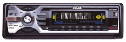 Автомагнитола Velas VDU-F201