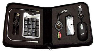 Клавиатура и мышь RoverMate Mobikit Black-Silver USB