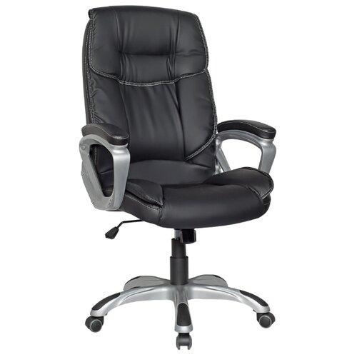 Компьютерное кресло College CLG-615 LXH для руководителя, обивка: искусственная кожа, цвет: черный