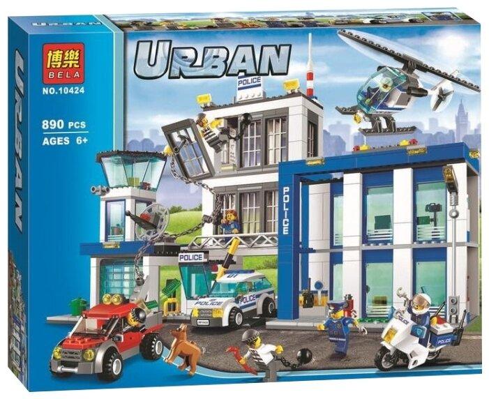 Конструктор BELA (Lari) Urban 10424 Полицейский участок