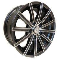 Диски LS Wheels 312 6,5x15 4x100 D73.1 ET40 цвет GMF (темно-серый,полировка) - фото 1