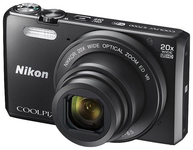 Компактный фотоаппарат Nikon Coolpix S7000