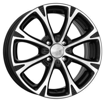 Колесный диск K&K Блюз 6x15/4x100 D67.1 ET38 Алмаз черный