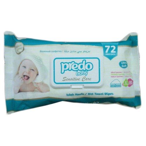 Влажные салфетки Predo Baby, 72 шт.