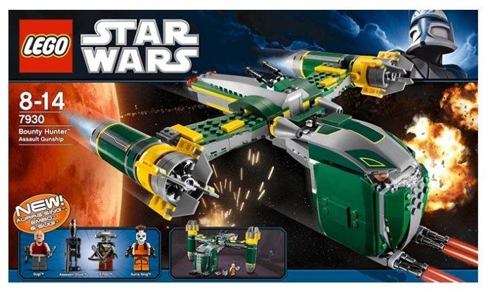 Конструктор LEGO Star Wars 7930 Штурмовой корабль Баунти Хантер