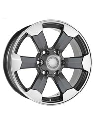 Диск RPLC-Wheels TO69 GMFP 7.5x17/6x139.7 D106.1 ET25 - фото 1