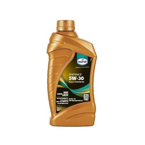 Синтетическое моторное масло Eurol Syntence 5W-30, 1 л по цене 756