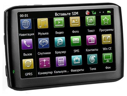 Навигатор teXet TN-610 Voice HD