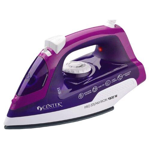 Утюг CENTEK CT-2348 фиолетовый/белый утюг centek ct 2348 violet 1800вт фиолетовый