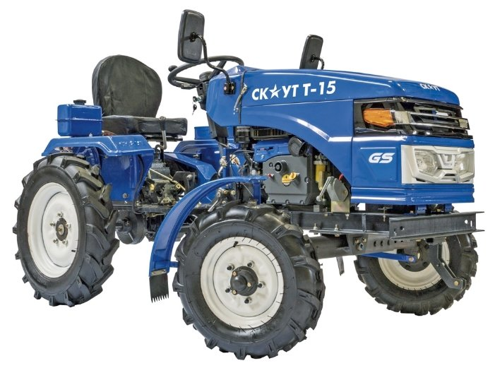 Мини-трактор Скаут T-15 VT