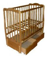 Кроватка Фея МД 270.6 (с ящиком)