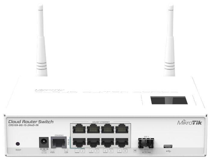 MikroTik CRS109-8G-1S-2HnD-IN - Wifi, Bluetooth адаптер
