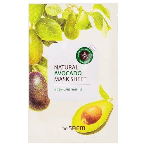 The Saem тканевая маска Natural Avocado, 21 млМаски<br>