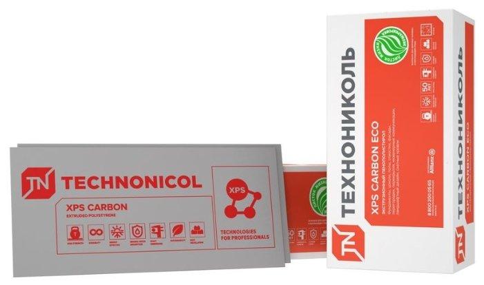 Экструдированный пенополистирол (XPS) Технониколь CARBON ECO 118х58см 40мм