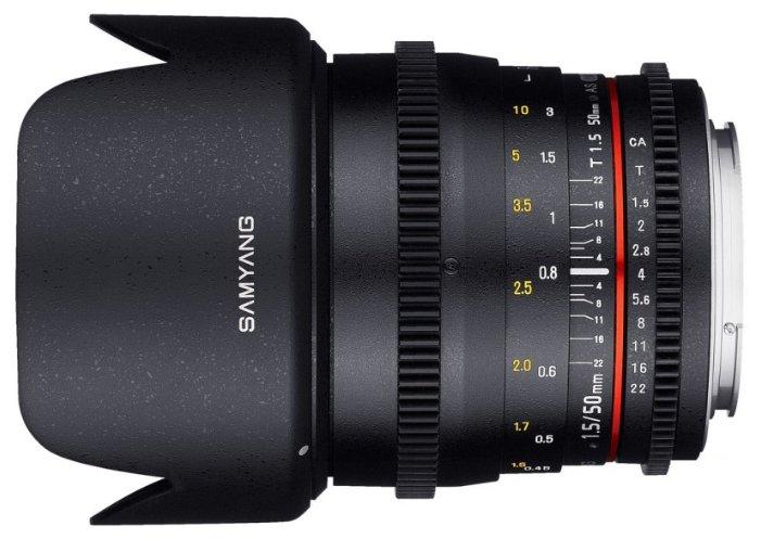 Samyang Объектив Samyang 50mm T1.5 AS UMC VDSLR Fujifilm X