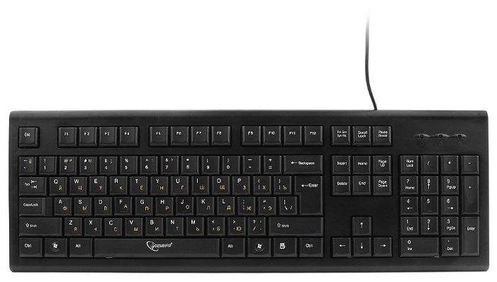 Клавиатура Gembird KB-8353U-BL Black USB
