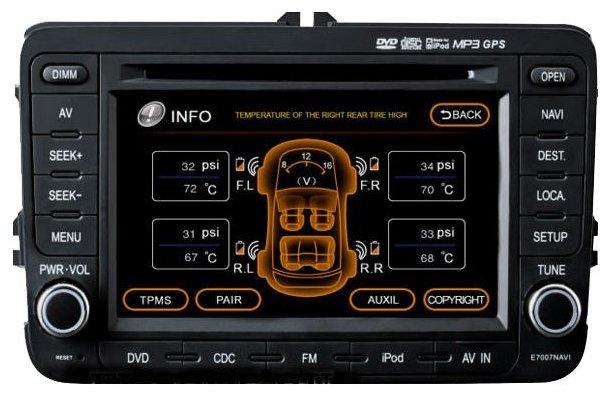 Автомагнитола FlyAudio E8085NAVI Skoda Octavia