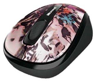 Мышь Microsoft Wireless Mobile Mouse 3500 Artist Edition Dana McClure Grey-Black USB